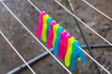 Colorful Plastic Clothes Pegs ...