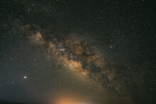 Long Exposure Of The Night Sky...