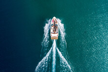An Aerial View Of A Group Of F...