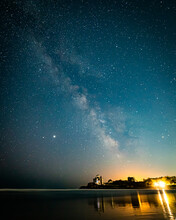 Milkyway Galaxy And Stars In T...