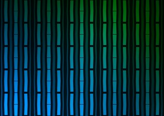 Dark Blue, Green vector background with straight lines.