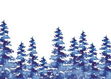Winter Watercolor Christmas Ca...