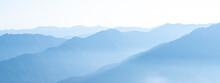 Mountain Range Banner. Rocky M...