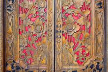 Indian Inspired Carved Golden ...
