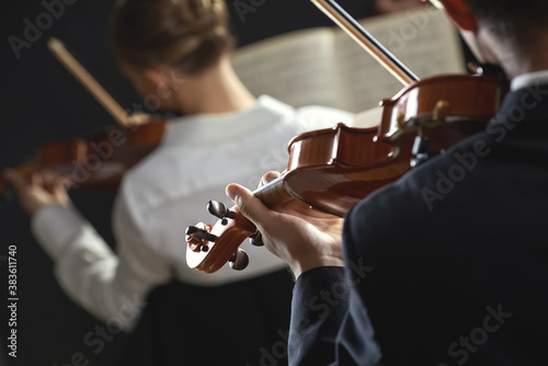 Fototapeta Classical music: concert