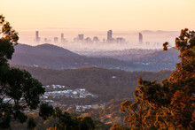 Dawn Over Brisbane City From A...