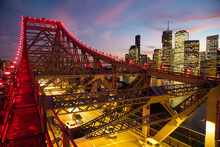 View From On The Story Bridge ...