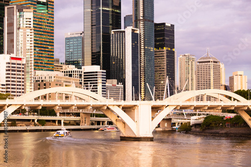 Fototapeta William Jolly Bridge and Brisbane River
