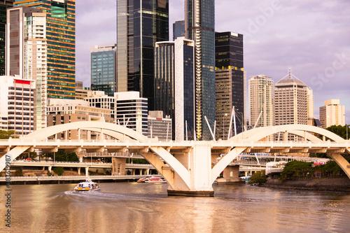 William Jolly Bridge and Brisbane River Wallpaper Mural
