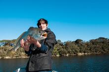 Teenage Fisherman With A Mullo...