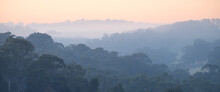 Hills In The Morning Mist