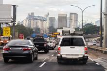 Early Morning Traffic In Sydney