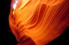 Slot Canyon Sandstone Rock Geology Desert Southwest Arizona USA
