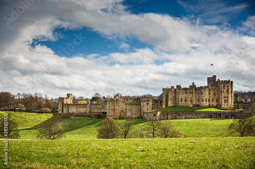 Photo Alnwick Castle, Northumberland - England