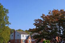 Autumn Landscape With A House ...