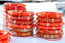 Buoys Round Lifesaver Stacked ...