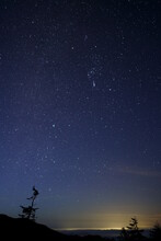 Stars Shining In The Sky Befor...