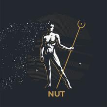 Egyptian Goddess Nut.