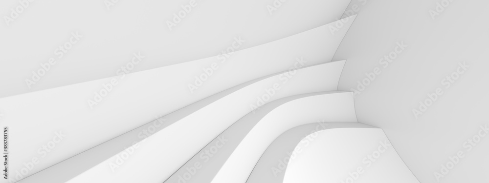 Fototapeta Abstract Hall Background. Indoor Graphic Design