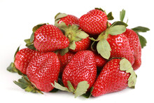 Delicious Pile Of Strawberries