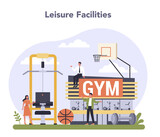 Leisure service sector of the economy. Entertainment industry.