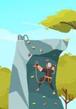 Mountain Climbing Training Composition