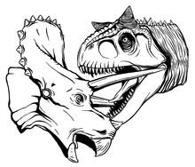 Dinosaur Vector Illustration F...
