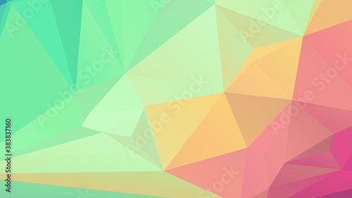 Plakaty kolorowe  abstract-color-polygon-background-design-abstract-geometric-origami-style-with-gradient