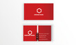 template card business vector design