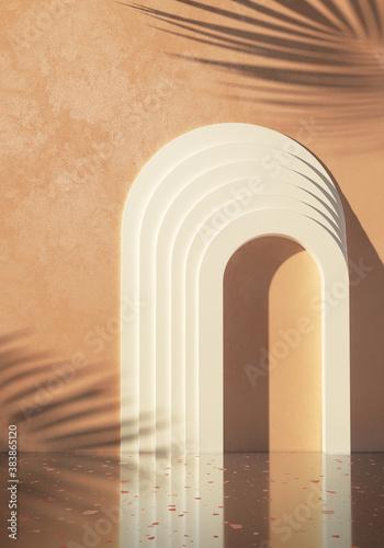 Fotografija 3d-rendering illustration for pack shot advertising