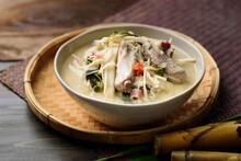 Local Thai Food, Fermented Bam...