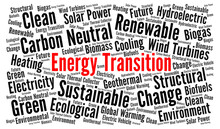 Energy Transition Word Cloud Concept