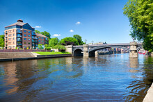 River Outhe In York, A City In England