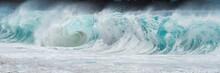 Ocean Wave Panoramic Banner