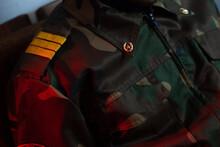 Military Uniform Close-up, Sol...