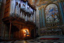 Organ Player In Saint Mary Of ...