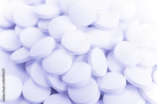 Fototapeta white pills obraz na płótnie