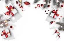 Merry Christmas Card Made Of F...