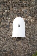 White Sentry Box