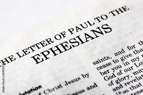 Fotografía Book of Ephesians