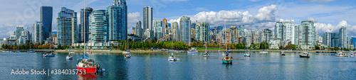Obraz na plátně Vancouver city