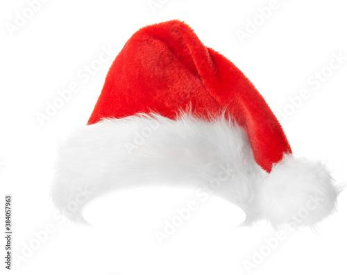 Fotografia, Obraz Santa Claus red hat.