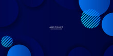 Dynamic Vibrant Colorful Gradient Blue Abstract Presentation Circle Background