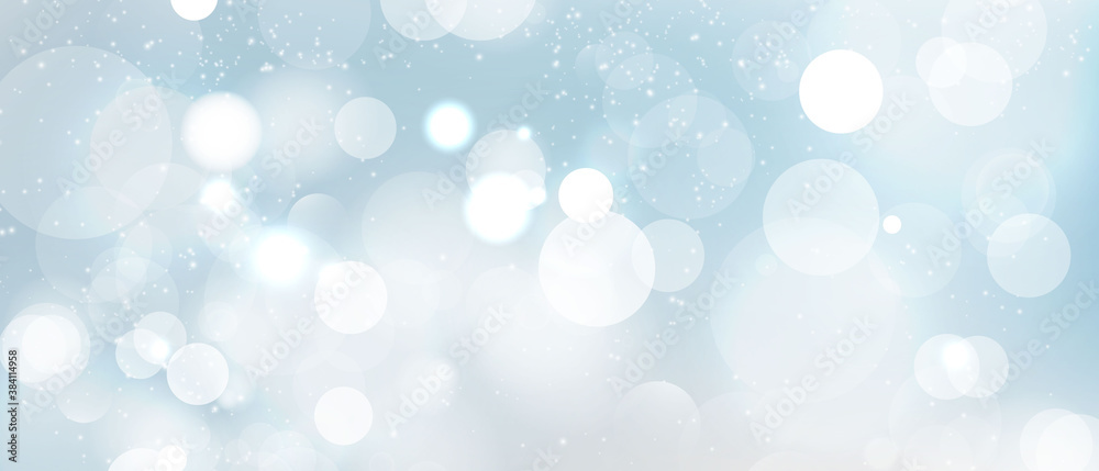 Fototapeta abstract blurred light element that can be used for cover decoration bokeh background vector