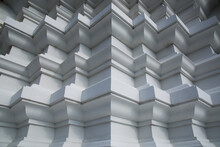 Thai Building Pattern For Background
