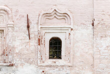 Small Window In An Ancient Whi...