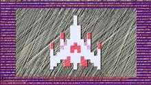 Retro Space Fighter Loading Spectrum Pixels Art Vj Loop