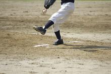 草野球のピッチャー