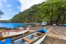 Barques à Anse Des Cascades, ...