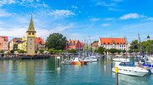 Lindau Town In Bavaria, German...